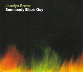 Somebody Elses Guy single by Jocelyn Brown