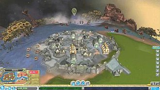 Spore (2008 video game) - The Civilization Stage focuses on the player developing many cities of three types: Economic, Military and Religious.
