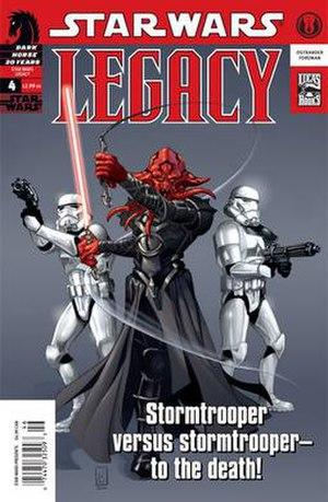Star Wars Legacy 4 - Image: Starwars legacy 4
