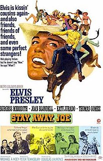 <i>Stay Away, Joe</i> 1968 film by Peter Tewksbury