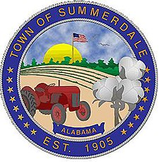 Official seal of Summerdale, Alabama