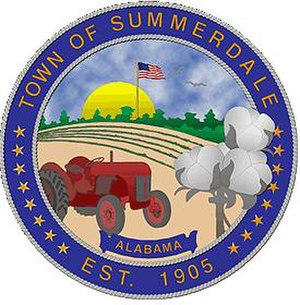 Summerdale, Alabama - Image: Summerdale seal photo