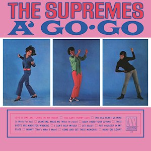 The Supremes A' Go-Go - Image: Supremes a go go