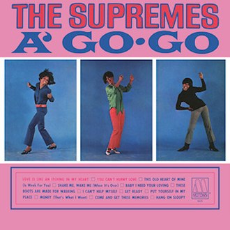 The Supremes A' Go-Go - Image: Supremes a go go