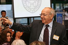 At the second Annual Sy Syms School of Business, May 1, 2008