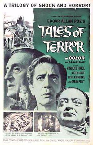 Tales of Terror - Theatrical release poster