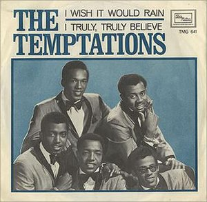 I Wish It Would Rain - Image: Temptations I Wish It Would Rain
