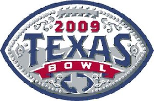 2009 Texas Bowl - Texas Bowl logo for 2009