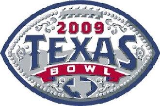 2009 Texas Bowl - Texas Bowl logo for 2009