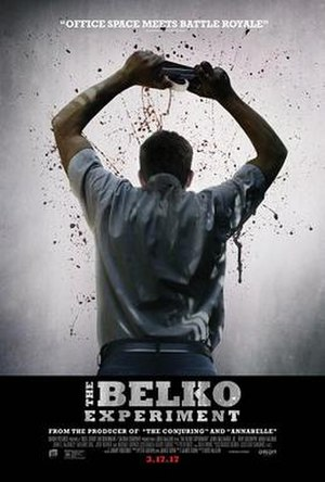 The Belko Experiment - Theatrical release poster