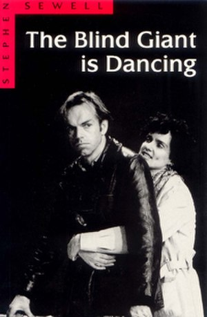 The Blind Giant is Dancing - Cover image shows Hugo Weaving (left) and Catherine McClements (right)