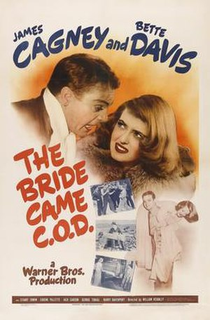 The Bride Came C.O.D. - theatrical release poster