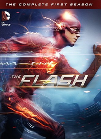 The Flash (season 1) - Home media cover