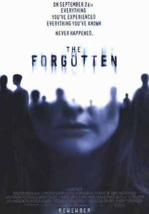 The Forgotten (2004 film) - Theatrical release poster