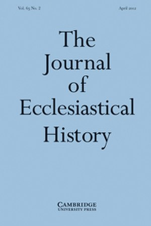 The Journal of Ecclesiastical History - Image: The Journal of Ecclesiastical History
