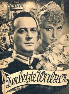 <i>The Last Waltz</i> (1934 film) 1934 film