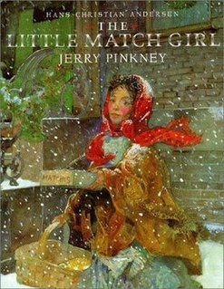 <i>The Little Match Girl</i> (Pinkney book)
