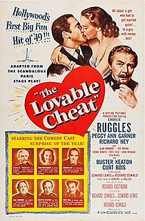 <i>The Lovable Cheat</i> 1949 film by Richard Oswald