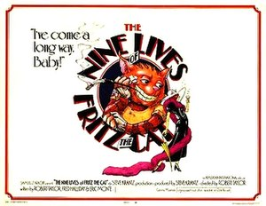 The Nine Lives of Fritz the Cat - Theatrical release poster