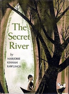<i>The Secret River</i> (Rawlings book) book by Marjorie Kinnan Rawlings