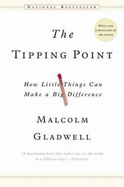 Picture of a book: The Tipping Point
