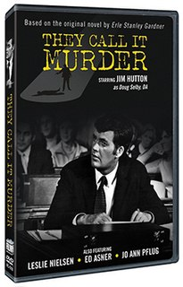 <i>They Call It Murder</i> 1971 television film directed by Walter Grauman