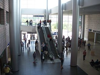 Toncontín International Airport - Interior of Toncontín