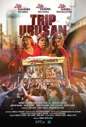 Trip Ubusan: The Lolas vs. Zombies - Theatrical release poster