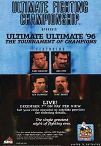 A poster or logo for Ultimate Ultimate 1996.
