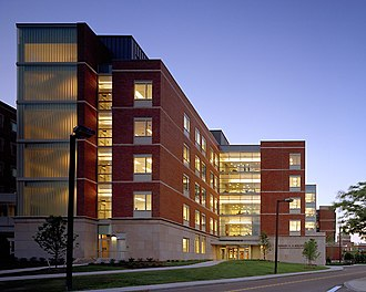 The Institute of Optics - Goergen Hall: Biomedical Engineering and Optics.