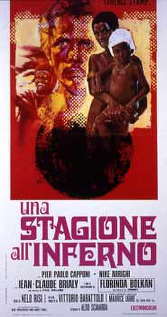A Season in Hell (1971 film) - Image: Una stagione all'inferno