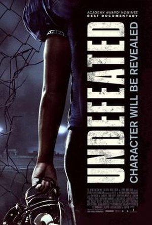 Undefeated (2011 film) - Image: Undefeated Film Poster