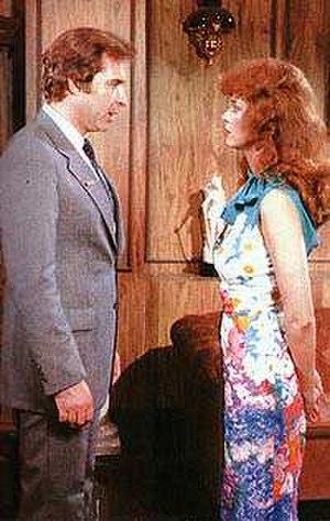 Vanessa (telenovela) - Rogelio Guerra and Lucía Méndez in the soap opera