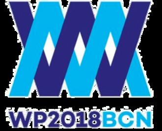 2018 Women's European Water Polo Championship - Official logo