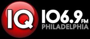 """WKVP - Logo for """"IQ 106.9"""" (c. 2012-2013)"""