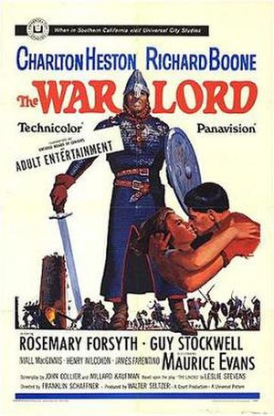 The War Lord - film poster by Howard Terpning