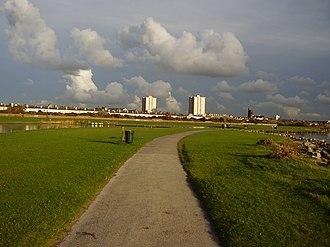 Waterloo, Merseyside - Facing Waterloo from Marina