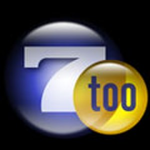 "WDBJ - Original logo of WDBJ-DT2 as ""7 Too"", used from 2004 to 2006."