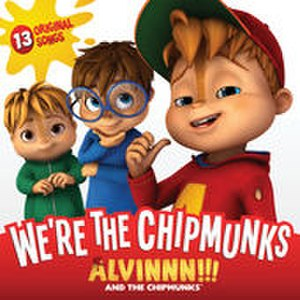 We're the Chipmunks (Music from the TV Show) - Image: We're the Chipmunks front cover of the album