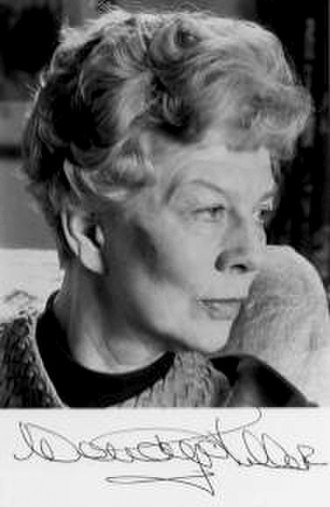 Wendy Hiller - Hiller in later years