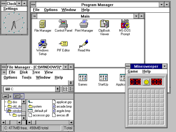 Windows 3 1x - Wikiwand