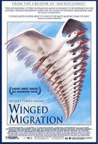 Winged Migration - theatrical poster