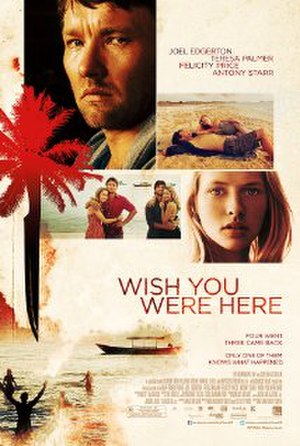 Wish You Were Here (2012 film) - Theatrical film poster