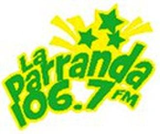 """XHSK-FM - Logo as """"La Parranda"""""""