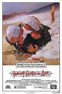 <i>Young Doctors in Love</i> 1982 film by Garry Marshall
