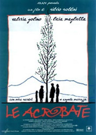 Le acrobate - Image: 'Le acrobate' (1997) Italian film poster
