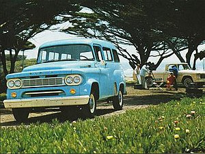 Carryall - 1963 Dodge Town Wagon carryall