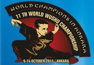 2011 World Wushu Championships - Image: 2011 World Wushu Championships logo