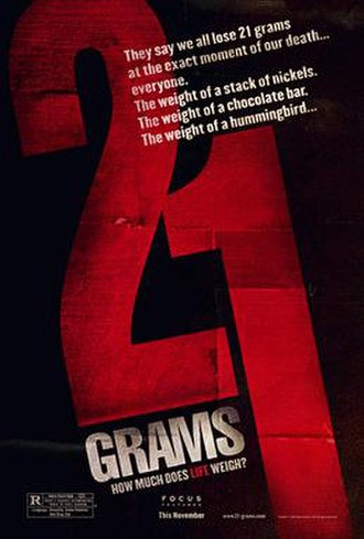 21 Grams - Theatrical release poster