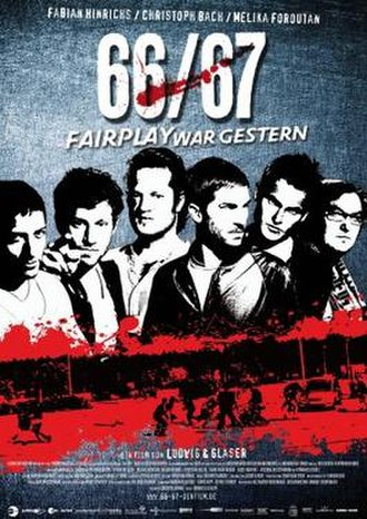 66/67: Fairplay Is Over - German poster